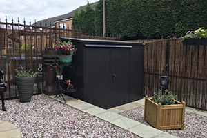 Addition Shed In Garden