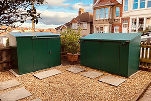 Access and Annexe bike sheds