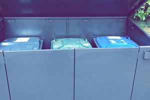 Access garden bin storage