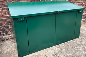 Asgard Secure Steel Bike Shed
