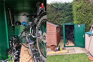 Review of best bike sheds