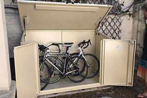 best bike shed ivory