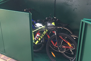 Securely Storing Bikes in Asgard Shed