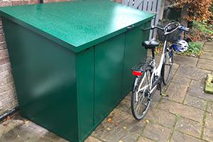 condensation-proof-bike-shed