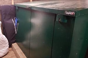 Cycle Storage Metal Shed