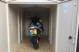 Motorcycle Secure Garage