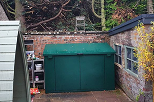 Metal Shed by Asgard secure steel storage