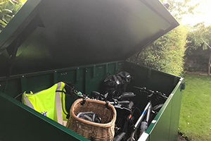 Storing cycles in an Asgard Shed