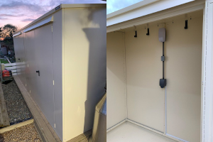 Asgard Secure Steel Outdoor Storage