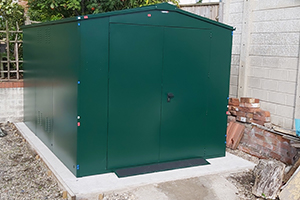 Motorcycle Secure Sheds