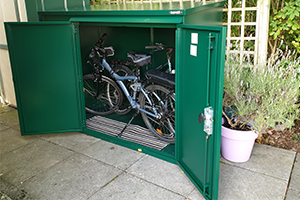 Electric Bike High Security Shed