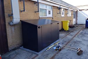 Garden E shed storage