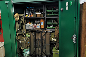 Fishing Tackle Storage Shed