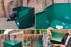 Easy to construct shed