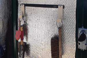 Metal Shed with Insulation