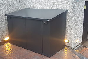 E Bicycle Storage Shed