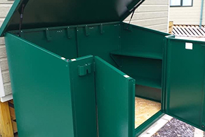 Access Condensation Proof Shed