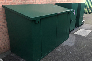 Bike shed for local cadets