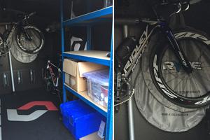Bike Storage Reviews: Customers secure bike shed with freestanding and mounted bike racks