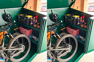 29ers secure storage shed