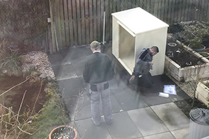 High security shed installation