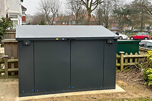 customer review of metal shed online