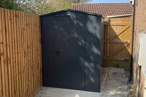 Metal Garden Shed - UK Made by Asgard Storage