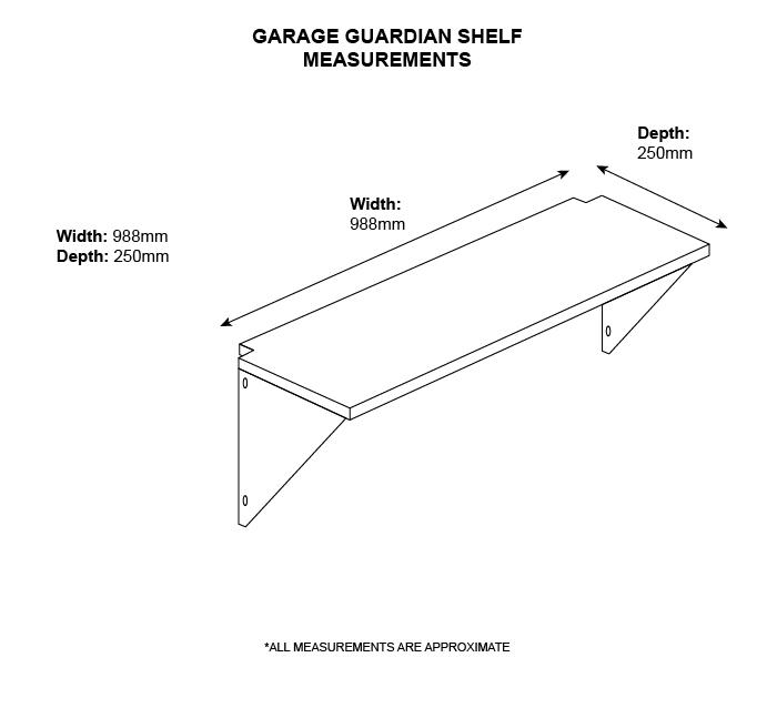 Garage Guardian Shelf