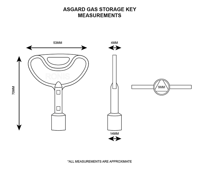 Asgard Gas Storage Key