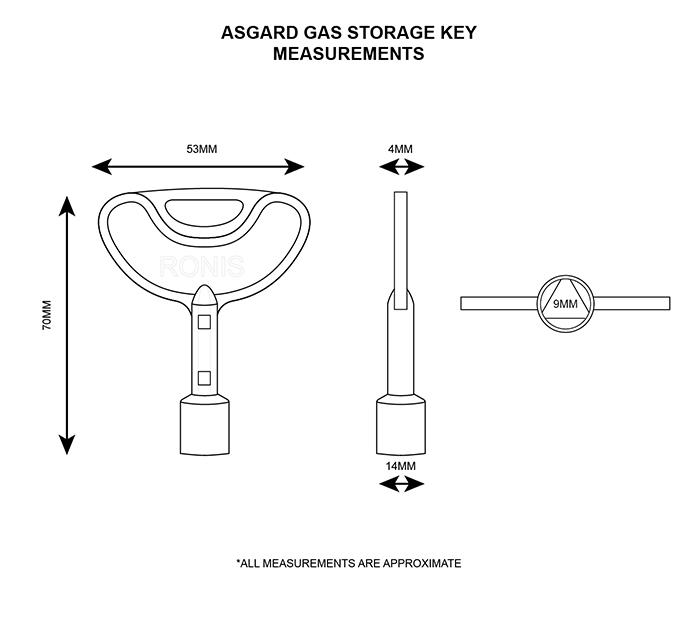 Asgard Gas Storage Key