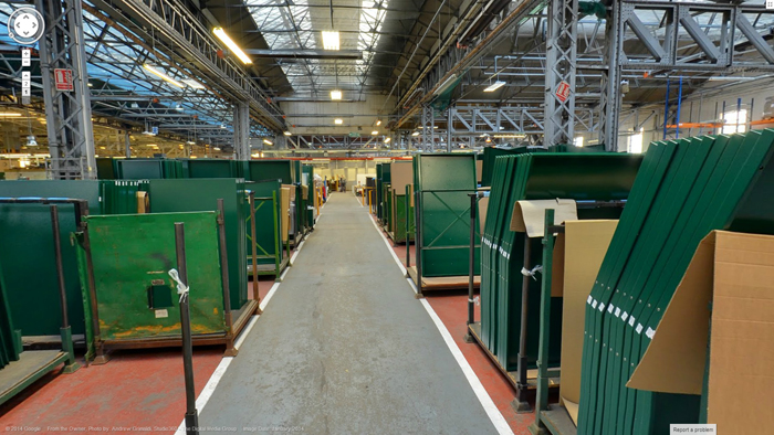 Your Asgard is finished and put in the loading bay ready for delivery