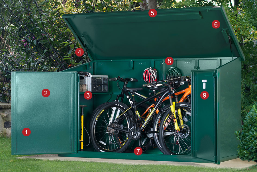 Access Plus 29er Storage Features