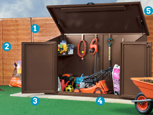 Access garden Shed