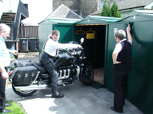 extra large motorcycle storage