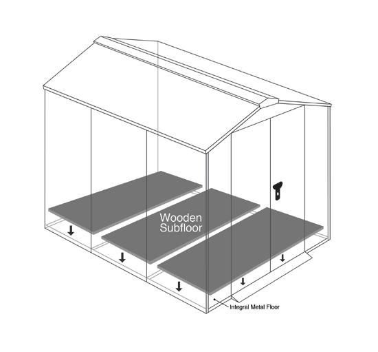 The Asgard motorcycle garage subfloor