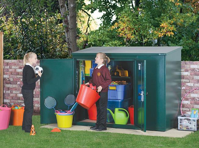 School storage - low maintenance outdoor storage