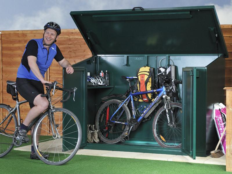 Asgard Customer Feedback on Metal Bike Storage for 4 Bikes