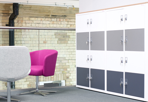 Asgard Office Lockers made in the UK