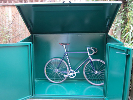 The Ride Journal reviews Asgard cycle storage