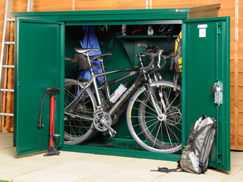 Weatherproof bike storage