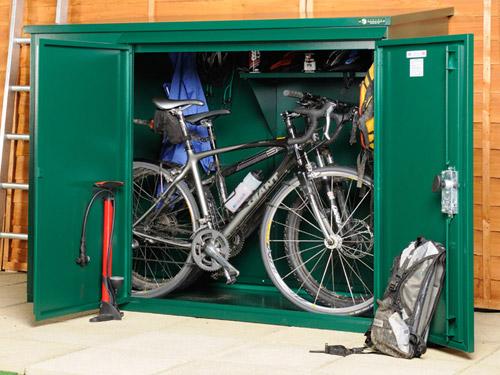 Winter bike storage