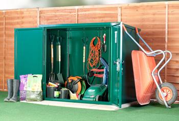 weatherproof storage for gardens