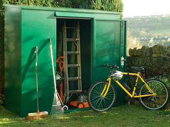 Gardening equipment shed