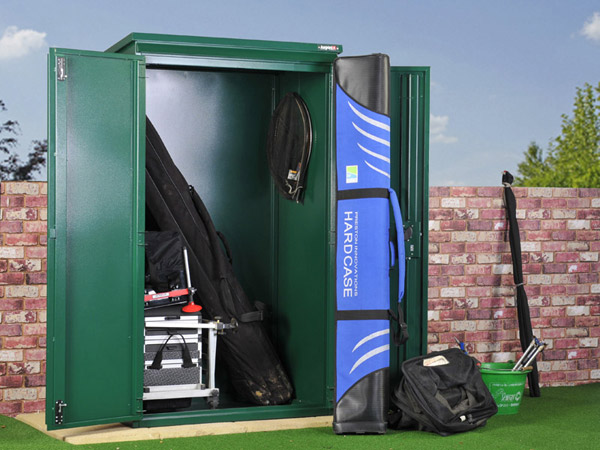 Secure fishing tackle storage