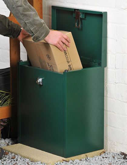 Parcel collection box from Asgard