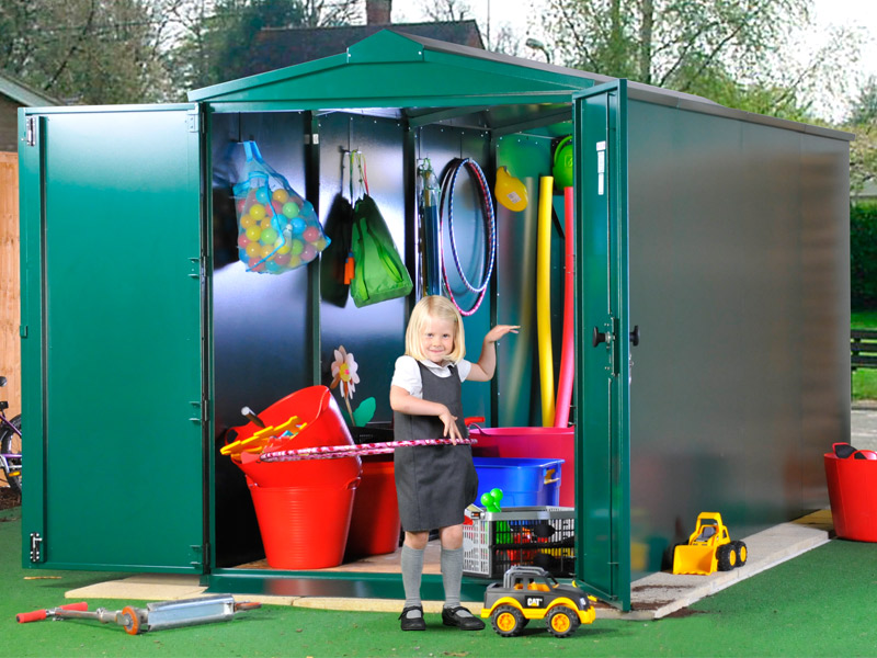 Secure school storage units