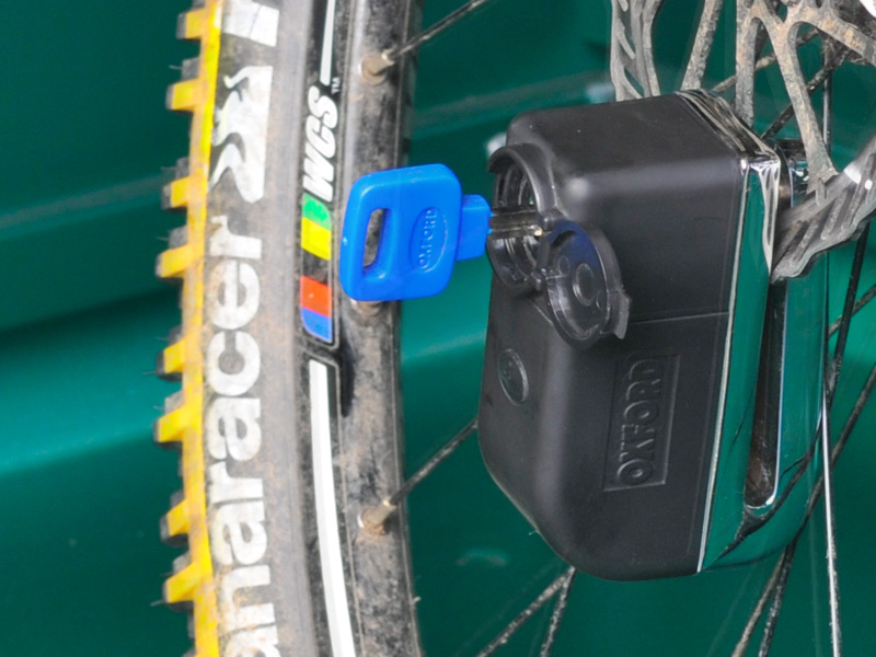 Cycle disc alarm