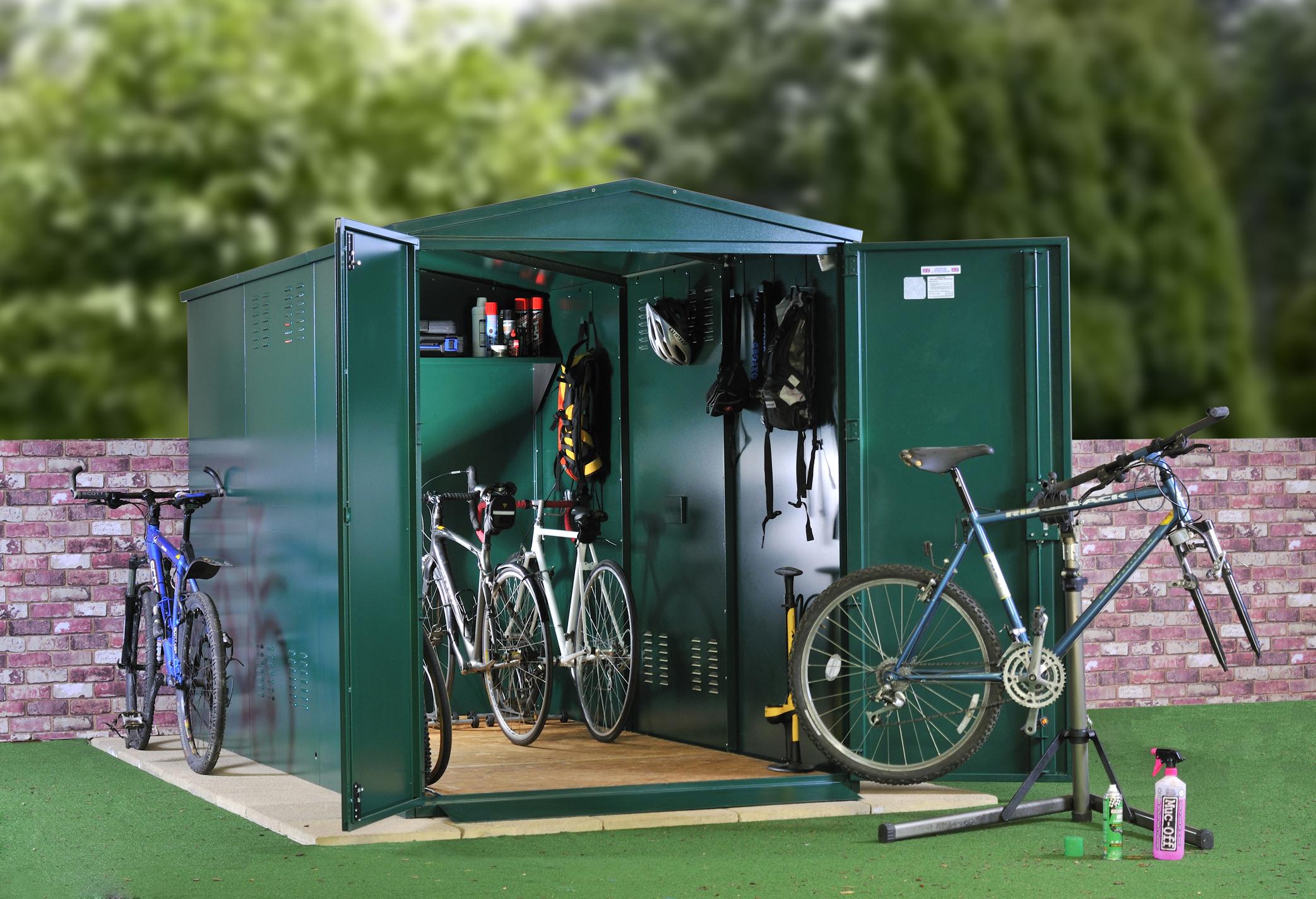 Large bike storage
