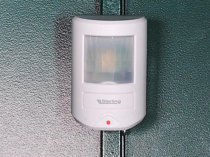 Motion sensor shed alarm