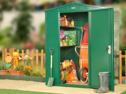 metal garden storage
